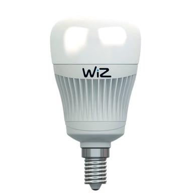 Lampadina LED E14 goccia colore cangiante 7.5W = 470LM (equiv 40W) 120° WIZ