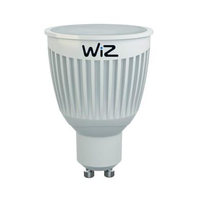 Lampadina LED GU10, Faretto, Argentato, Colore cangiante, RGB, 6.5W=345LM (equiv 40 W), 60° , WIZ