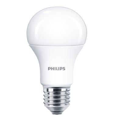 Lampadina LED E27 goccia bianco caldo 11W = 1055LM (equiv 75W) 150° PHILIPS