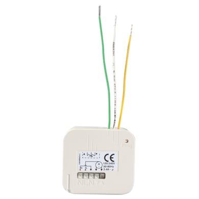Ricevitore per automatismi SOMFY compatibile con tutti i telecomandi e tecnologia rts somfy