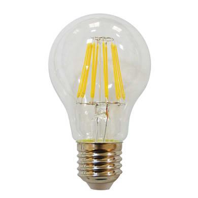 Lampadina LED, E27, Goccia, Trasparente, CCT, 8.5W=806LM (equiv 60 W), 150° , LEXMAN