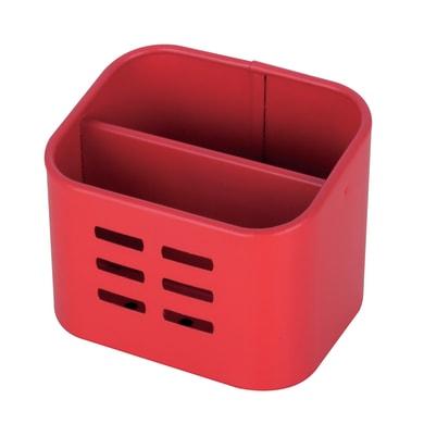 Portaspugna rosso L 10.5 x H 8.4 x P 8.5 cm