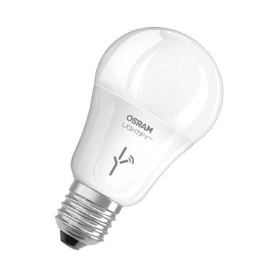 Lampadina smart lighting LED, WIFI, E27, Goccia, Opaco, CCT, 9.5W=810LM (equiv 60 W), 190° , OSRAM