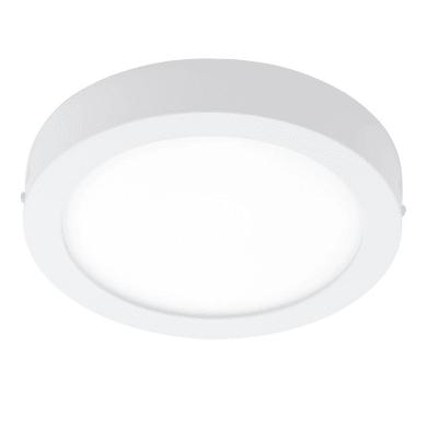 Faretto fisso da incasso tondo Fueva-C in metallo, bianco, diam. 30 cm 4xLED integrato 21W 2700LM IP20 EGLO