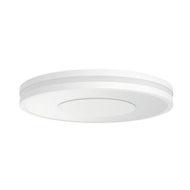 Plafoniera moderno Being Hue LED integrato bianco, in cristallo,  D. 34 cm 34 cm, PHILIPS HUE