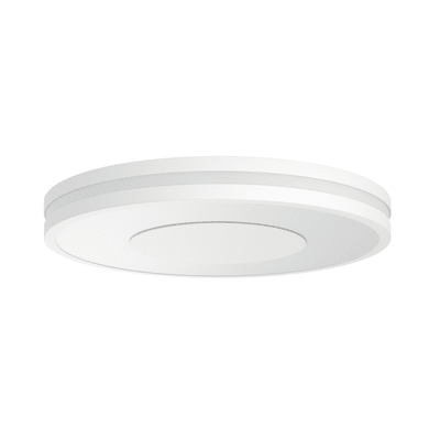 Plafoniera moderno Being Hue LED integrato bianco, in vetro,  D. 34 cm 34 cm, PHILIPS HUE