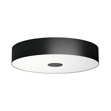 Plafoniera design Fair Hue LED integrato nero, in metallo,  D. 44.4 cm PHILIPS HUE