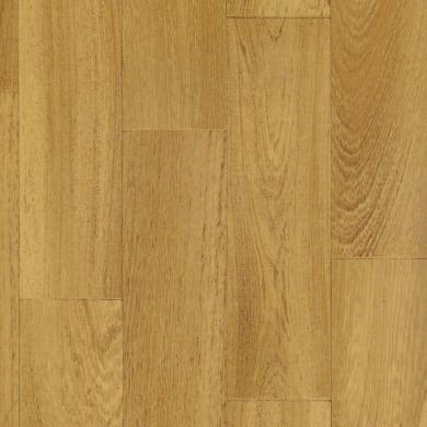 Pavimento pvc in rotolo Pqt listellato , Sp 0.55 mm marrone