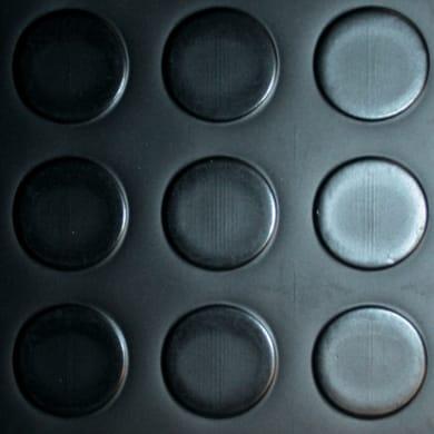 Pavimento pvc in rotolo Bolle , Sp 1 mm nero