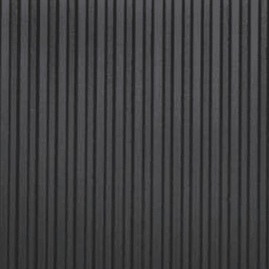 Pavimento pvc in rotolo Gomma righe , Sp 3 mm antracite