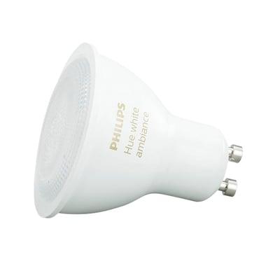 Lampadina LED GU10, Riflettore, Opaco, Colore cangiante, RGB, 5.5W=250LM (equiv 35 W), 46° , PHILIPS HUE