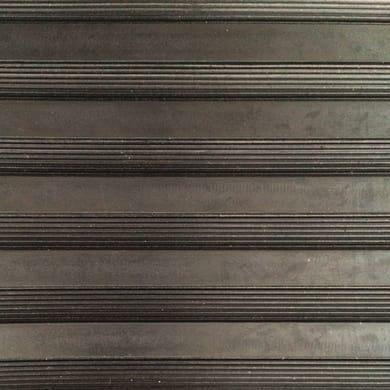 Pavimento pvc in rotolo Gomma cingolo , Sp 3 mm nero