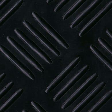 Pavimento pvc in rotolo Gomma cross , Sp 3 mm antracite