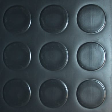 Pavimento pvc in rotolo Bolle , Sp 1 mm antracite