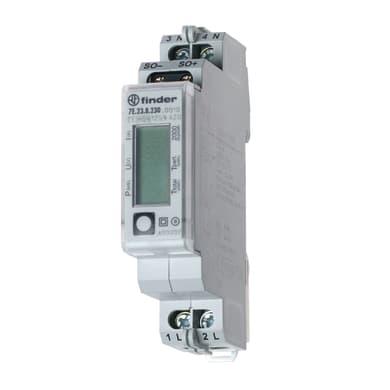 Misuratore consumi quadro elettrico 1  modulo