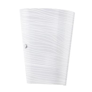Applique classico Caprice bianco, in acciaio inossidabile, 18.5x23 cm, EGLO