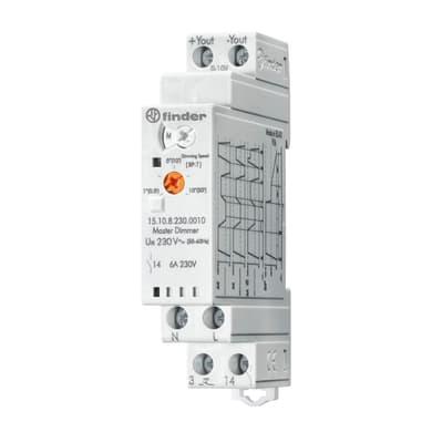 Regolatore di livello FINDER Master 151082300010 1 modulo 230V IP20 4 mm²