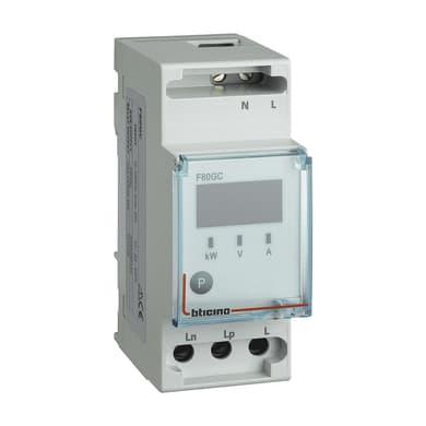 Modulo gestione carichi BTICINO P-Comfort GWD6910 2 moduli 230V IP20 16 mm²