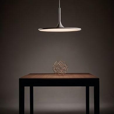 Lampadario Design Halo LED integrato bianco, in acrilico, D. 43.8 cm