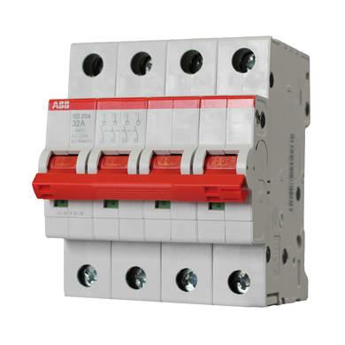 Sezionatore ABB ELM990426 3 poli 32A 4 moduli