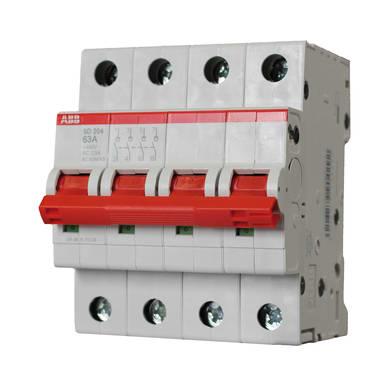 Sezionatore ABB ELM990429 3 poli 63A 4 moduli