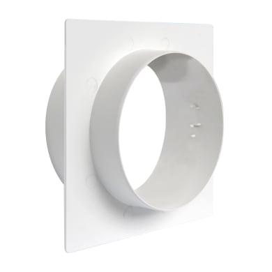 Placca Muro Ø100 bianco Ø 100 mm