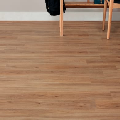 Pavimento pvc flottante clic+ Oak natural Sp 4 mm giallo / dorato