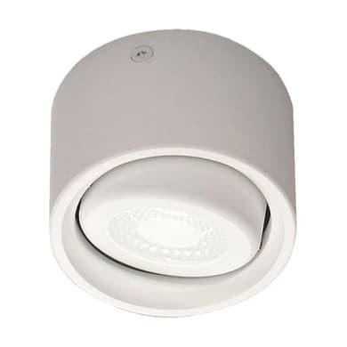 Faretto fisso da incasso orientabile rettangolo Anzio  in Metallo bianco, LED integrato 6W 540LM IP20