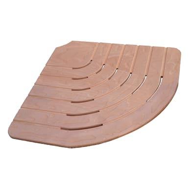 Pedana per doccia in compensato marino in legno  naturale 74 x 74 cm