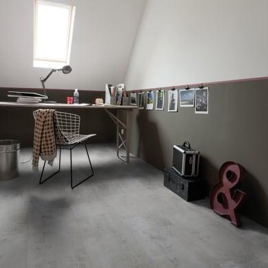 Pavimento PVC flottante clic+ Gotha Medium Sp 4.5 mm bianco
