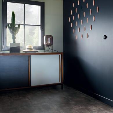 Pavimento PVC flottante clic+ Metal Board Sp 4.5 mm grigio / argento