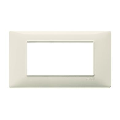 Placca VIMAR Plana 4 moduli beige