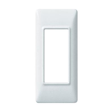 Placca Plana VIMAR 1 modulo bianco