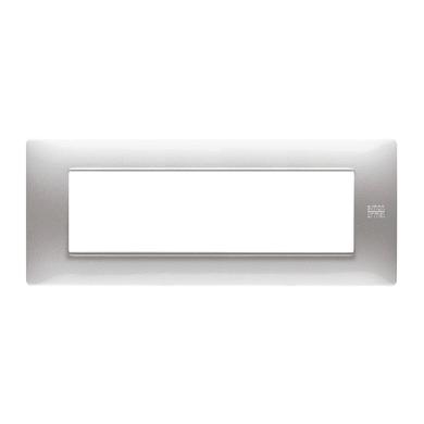 Placca Nea Flexa SIMON URMET 7 moduli alluminio