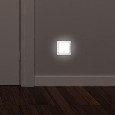 Faretto da incasso da esterno quadrato Turn me light LED integrato 0,4W Calo del flusso luminoso secondo L70B10LM 1 x IP20