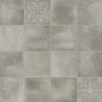 Piastrella Provence vintage 45.2 x 45.2 cm sp. 8 mm PEI 4/5 grigio