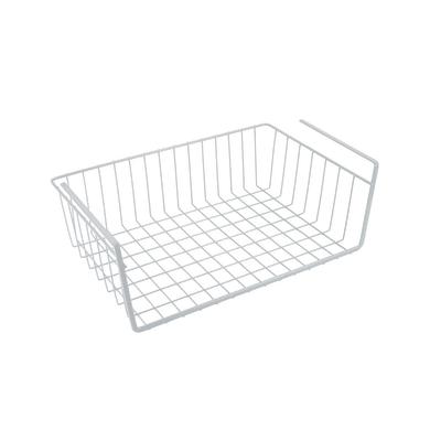 Cestello portaoggetti Babatex plus bianco L 40 x P 26 x H 14 cm
