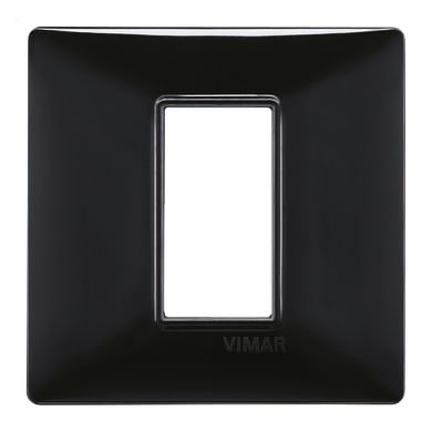 Placca VIMAR Plana 1 modulo nero