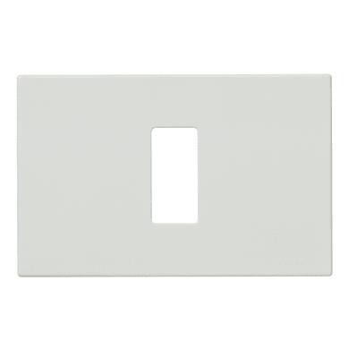 Placca VIMAR 8000 1 modulo bianco