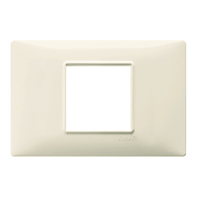 Placca VIMAR Plana 2 moduli beige