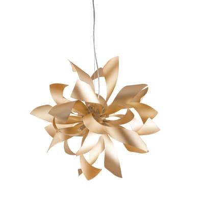 Lampadario Bloom oro, in metallo, diam. 65 cm, G9 6xMAX28W IP20