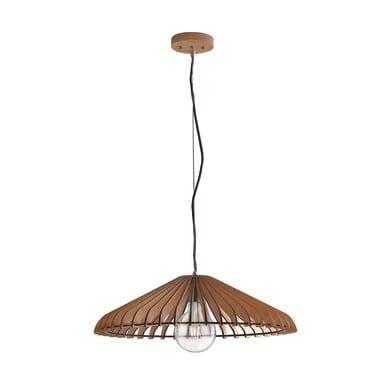 Lampadario Calder  marrone, in legno, diam. 30 cm, E27 MAX42W IP20