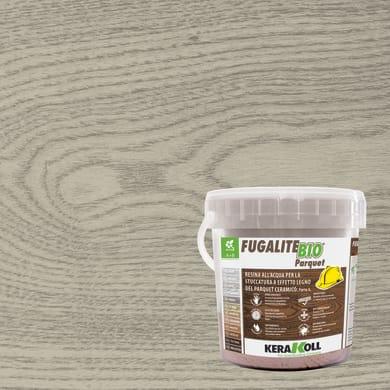 Stucco in pasta Fugalite Bio parquet KERAKOLL 3 kg grigio chiaro