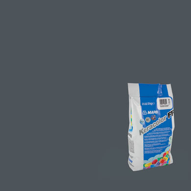 Stucco in polvere Keracolor FF MAPEI 5 kg grigio scuro