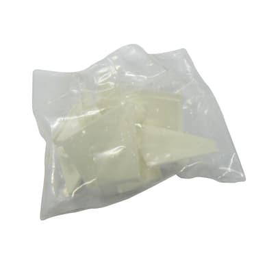 Giunto di terminazione pvc grigio L 2.8 x Sp 2.8 cm