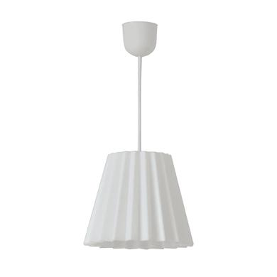Lampadario Scandinavo Norwalk bianco , D. 19 cm, INSPIRE