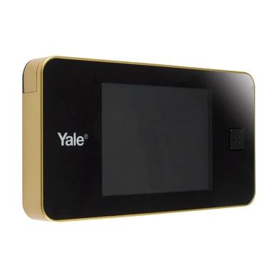 Spioncino elettronico per porta blindata YALE DDV Standard ottone