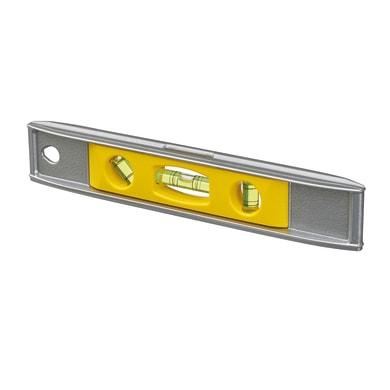 Livella manuale magnetica rettangolare STANLEY Livella TORPEDO Contractor cm 23 23 cm 3 fiale