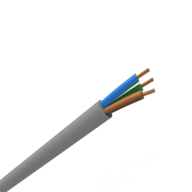 Cavo elettrico grigio fg16or16  3 fili x 1,5 mm² ELECTRALINE vendita al metro
