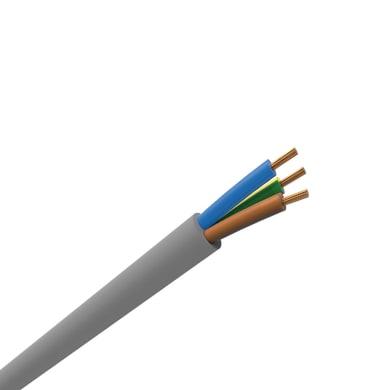 Cavo elettrico 3 fili x 2,5 mm² vendita al metro grigio